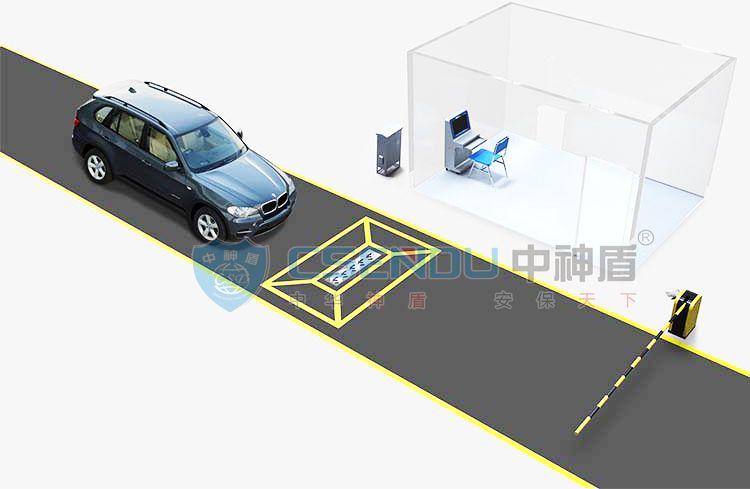 CSD-MCSS-I固定式车辆底盘安全检查系统