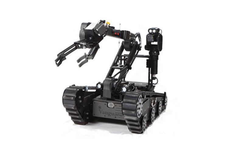 CSD-JQR-I数字化排爆机器人