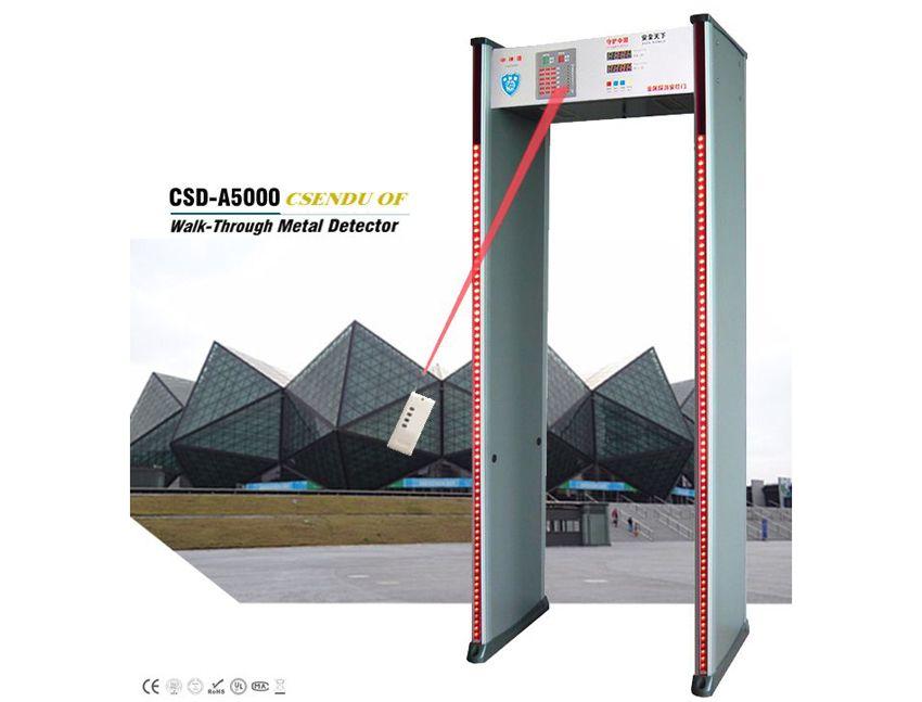 CSD-A5000室内高档遥控LED型安检门