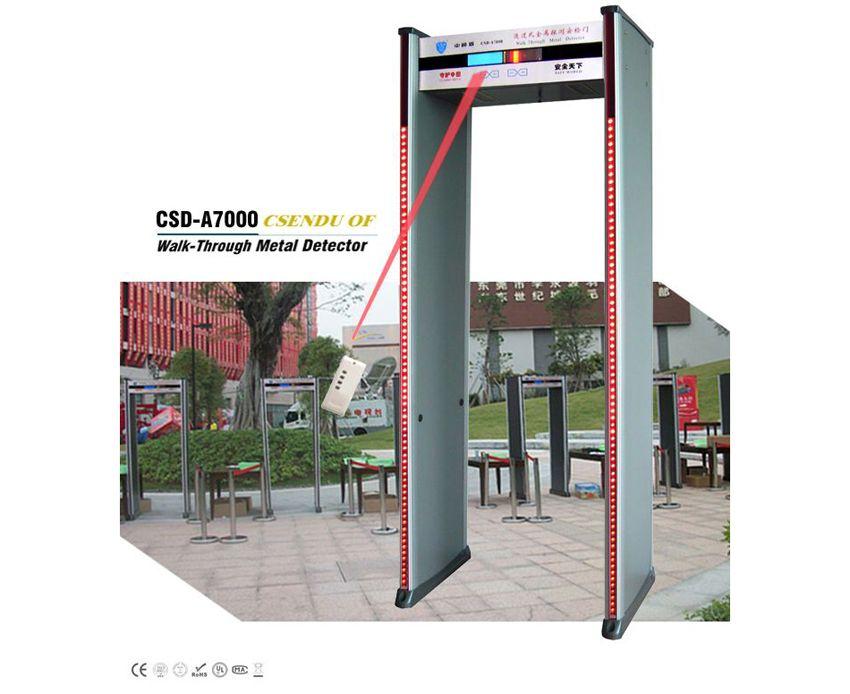 CSD-A7000豪华室内遥控液晶显示安检门